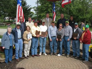 2012 Conservation Farm Family award winners