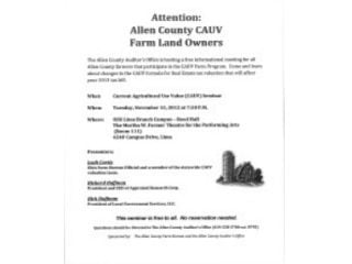 CAUV Meeting Notice
