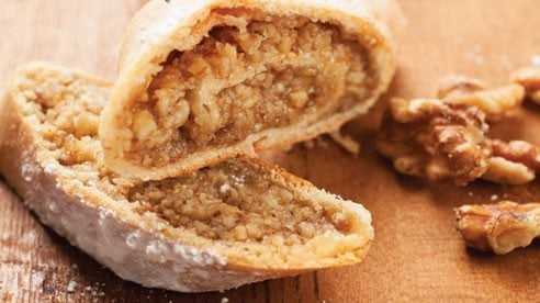 The addition of bread flour to the dough adds structure, a whole grain flavor and a wonderful rustic texture to this holiday favorite. Wrapped in plastic, then foil, nut rolls freeze beautifully, and are always ready for when company stops in.