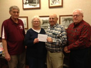 Farm Bureau Members Present Friends of Gallia County Animals with Donation