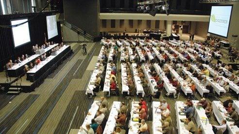 County Farm Bureau delegates convene each year to establish Ohio Farm Bureau policies.