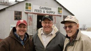 Adam, Greg and Dane Garman play an important role in the food system by supporting local farmers.