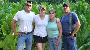 Scott farms in partnership with his parents, Fred and Frankie, and his sisiter, Hannah.