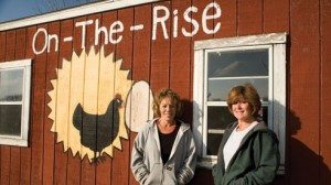 Cathy Tofstad (l) and Debbie McCullough started their farm-based outreach program to promote responsibility, compassion, work ethic and positive self-image among at-risk youths in their community.