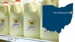 The Baker family sells its milk at a retail location on the farm as well as in local stores.