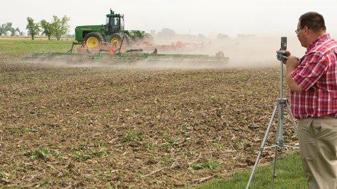 Marion County Farm Bureau members produce a YouTube video to show how grain farmers plant their seeds.