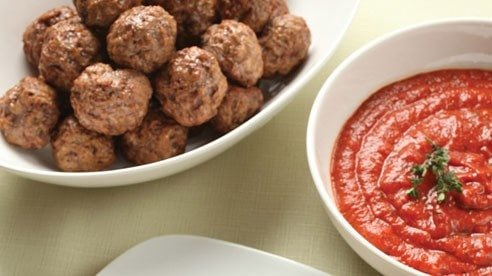 This sauce is great with Spiced Lamb Meatballs.Spiced Lamb Meatballs Recipe
