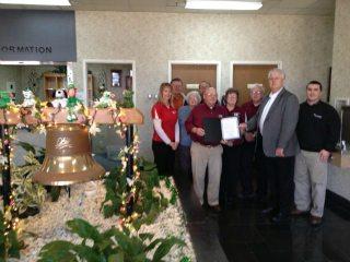 Gallia County Board Members, Gallia County Commissioners, and Organiazational Director Kim Harless
