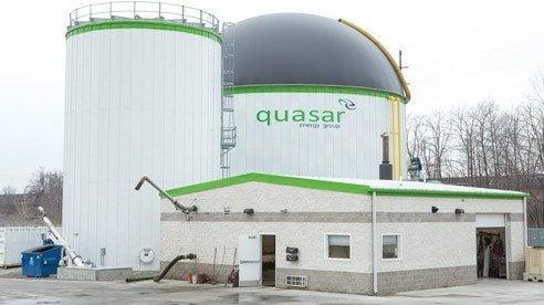 Cleveland-based Quasar Energy Group