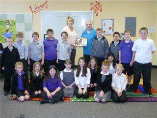 JCCS 3rd Grade with Mary Ellen Grafton and Librarian Mrs. Teresa Barnhart