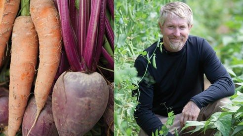 Rick Vest grows a variety of produce for local customers.