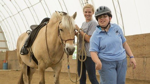 Equine Assisted Therapy helps students reach specific cognitive, emotional or behavioral goals.