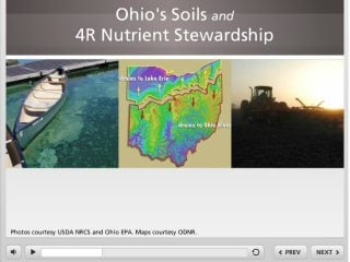 Fill out the form below to request the interactive e-Learning Unit on Ohio Soils and 4R Nutrient Stewardship