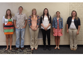 Scholarship Winners Attend Annual Meeting