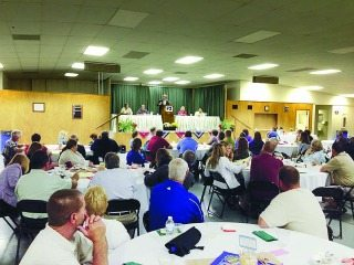 Community members gathered in Crawford County to learn more about food and agricultural issues.