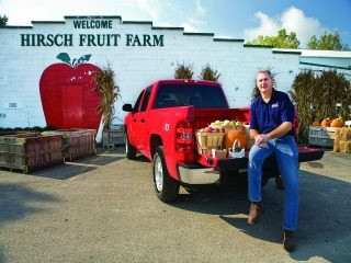 Steve Hirsch is Ohio Farm Bureau's president and a Ross County farmer.
