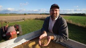 Farmer Matt Aultman supports efforts to improve the seed supply.