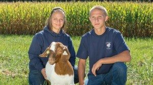Zach and Sarah Johnson, farm kids from birth, nurtured their love of the land and animals by living on the farm and being involved in 4-H.