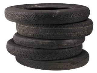 Recycle those old tires!