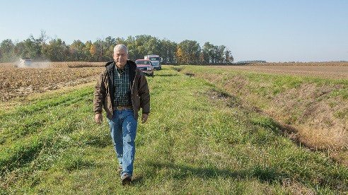 Farmer Terry McClure recently joined the board of The Nature Conservancy in Ohio to find solutions to environmental challenges.