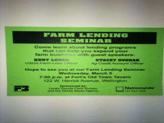 Farm Lending Seminar