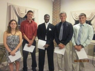 2013 Betty Hansen Memorial Scholarship Recipients