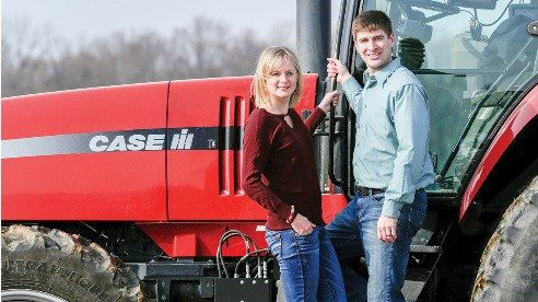 Katie and Latham Farley volunteer through Ohio Farm Bureau's Young Agricultural Professionals program, which offers networking, social and leadership experiences for up and coming food and farm advocates.