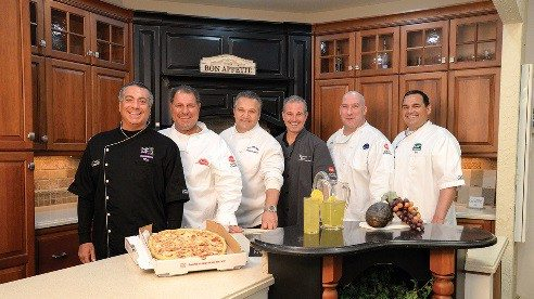 Northeast Ohio chefs, from left, Ron Quaranta, Jr., Kenneth Haidaris, Salvatore Coppola, Vernon Cesta, Nick  Frankos, Leo DelGarbino