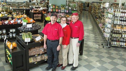 Scott Bowman and Jennifer Williams  have continued the success of Weiland's Market, a business that Jennifer's father John Williams helped found.