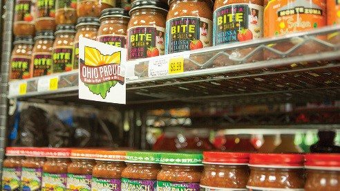 The market works with local vendors to help bring more Ohio foods to store shelves