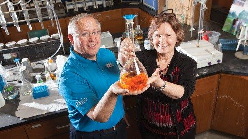 Husband and wife Dr. Larry Antosch and Dr. Karen Mancl have dedicated their lives to improving water quality.