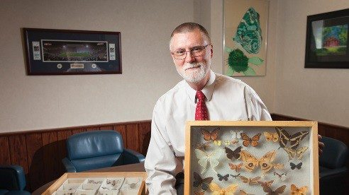 Dr. Bruce McPheron, dean of Ohio State University's College of Food, Agricultural and Environmental Sciences, started down his career path as an entomologist at age 11 through a 4-H project.