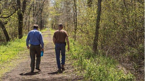 Tuscawaras County Farm Bureau collaborated with local elected officials and trail advocates in the creation of Buckhorn Creek Trail.