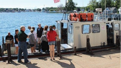 Farm Bureau members tour Lake Erie to learn about issues impacting water quality.