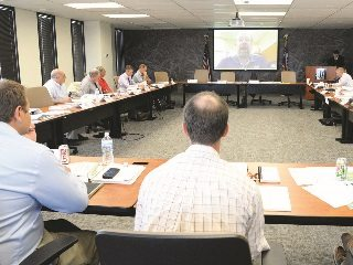 Farm Bureau members heard from experts on wide-ranging issues as they considered county Farm Bureau policy proposals.