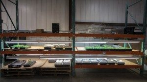 Among Green Machine's projects is this growing station, which is used to produce microgreens.
