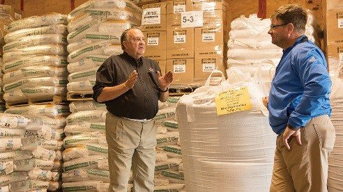 Leon Bird, owner of Bird Agronomics, has never farmed but developed a passion for advancing farming by encouraging the use of cover crops and providing quality seed.