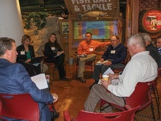Five regional meetings such as this one at Lake Erie Shores & Islands were held to gather input for Healthy Water Ohio.