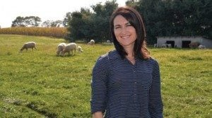 Kristin Reese won Ohio Farm Bureaus' Excellence in Agriculture award for 2014.