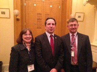 Lova & Jerry Ebbert with State Rep Jack Cera
