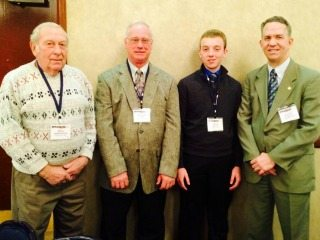 Bill Bowersock, Allen Clark & Cole Welch met with State Rep Andy Thompson