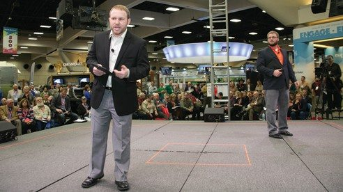 Michael Koenig, of ScoutPro, an Iowa business that develops software to assist farmers with crop maintenance, was recently named Farm Bureau Entrepreneur of the Year.