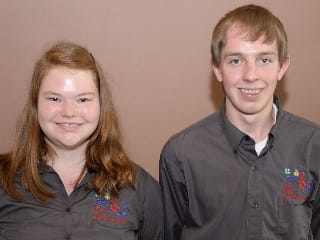 Emily Kanney and Jacob Serio are finalists in the 2015 Ohio Youth Capital Challenge