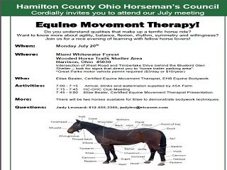 Equine Movement Therapy