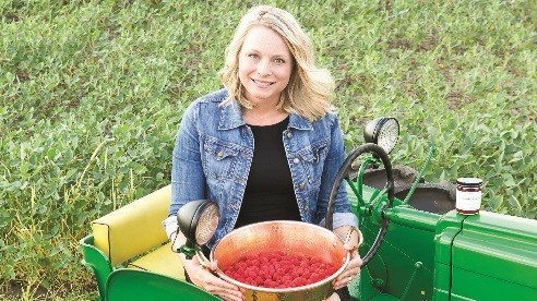 """Vicki Miller's winning product in the Ohio Signature Food Contest was Raspberry Habanero Jam, which features a hint of spice combined with the rich flavor of raspberries cooked """"low and slow."""""""