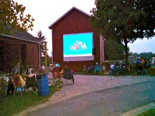 Movie on the Farm