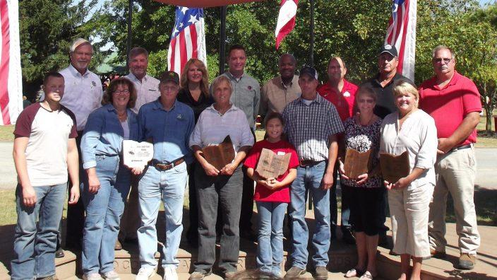 Conservation Farm Award winners 2015