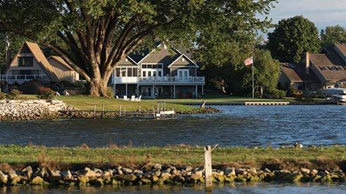 Lake Choctaw is a private lake community in Madison County.