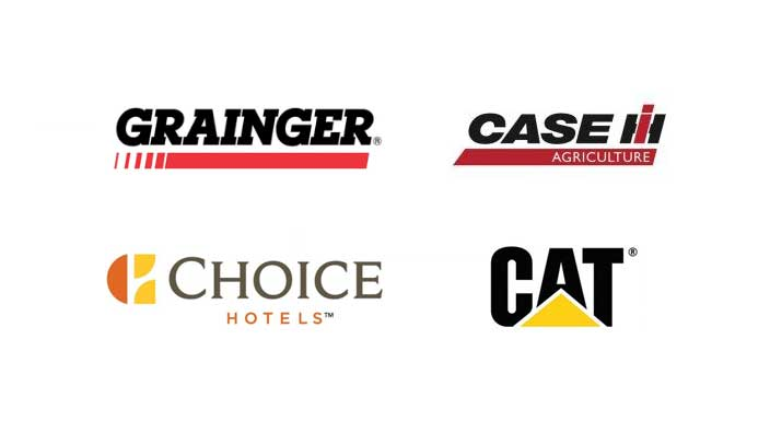 Grainger, Case IH, CAT and Choice Hotels are some of our benefit partners
