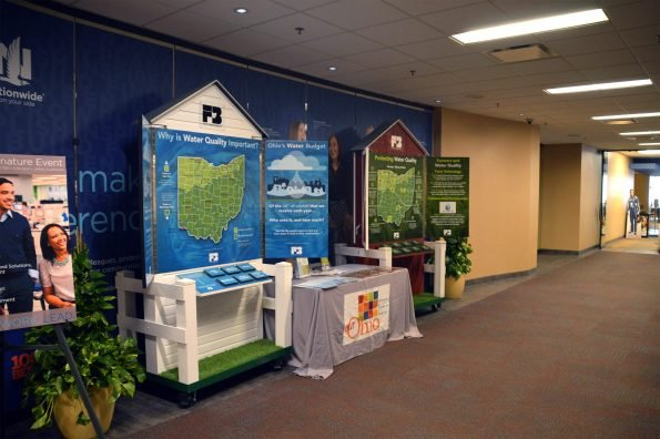 Water Quality Displays, Nationwide Building, Columbus, Ohio